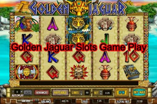 Golden Jaguar Slots Game Play